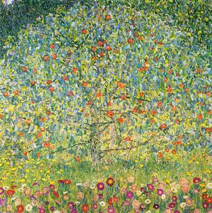 Gustav Klimt - Apple-tree01