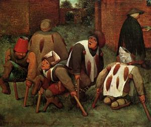 Pieter Bruegel The Elder - Die Krüppel