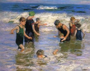 Edward Henry Potthast - der bathers