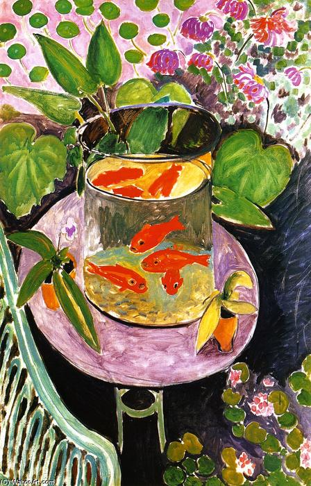 famous painting Goldfisch of Henri Matisse
