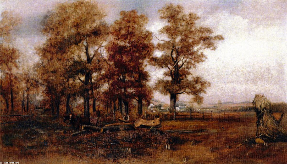 famous painting Indian Summer in Creedmore of Charles Henry Miller