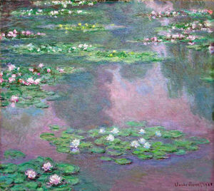 Claude Monet - Seerosen 14