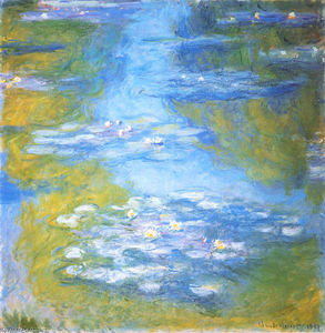 Claude Monet - Seerosen 23