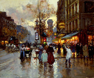 Edouard Cortes - Verweigern St Denis Induced