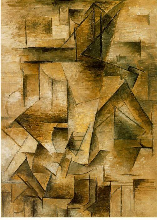 famous painting gitarre spieler of Pablo Picasso