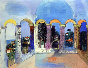 Raoul Dufy - Arcades in Vallauris