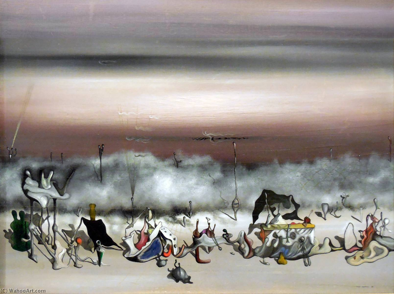 famous painting der band  von  Exzess  of Yves Tanguy