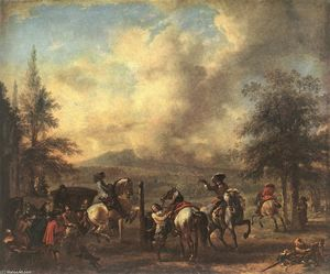 Philips Wouwerman - Reitschule