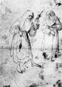 Hieronymus Bosch - Two Witches