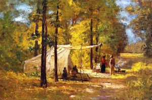 Theodore Clement Steele - sommer camp