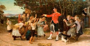 Philip Richard Morris - The Highland Laddies Return
