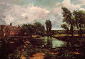 John Constable - A_WATER-MILL