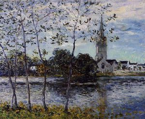 Maxime Emile Louis Maufra - Die Ufer des Teiches in Rosporden, Finistere
