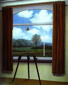 Rene Magritte - la zustand humaine