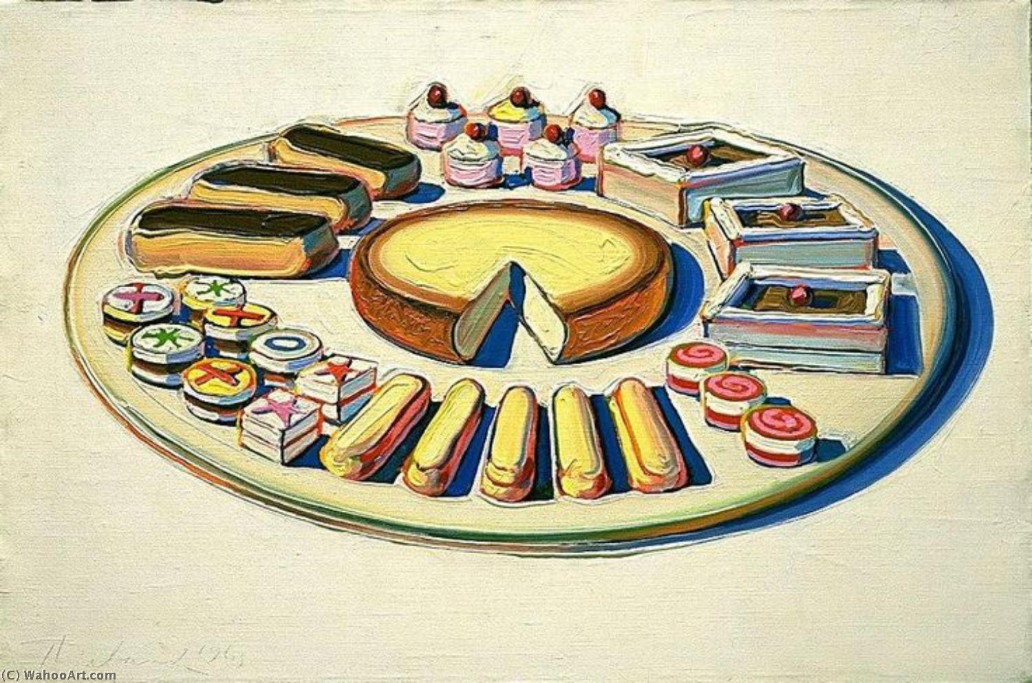 famous painting Pop Art of Wayne Thiebaud