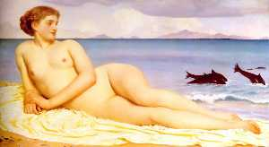 Lord Frederic Leighton - Englisch Actaea , die nymphe des shore