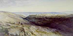 Edward Lear - Jerusalem Kissed
