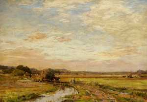 James Aumonier - sussex hayfields
