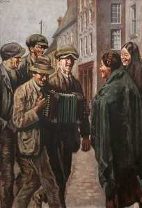 William Conor - die melodeon spieler
